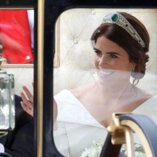 Il matrimonio della principessa Eugenie: l'abito da sposa