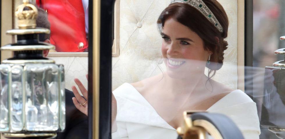 Il matrimonio della principessa Eugenie: l'abito da sposa Peter Pilotto