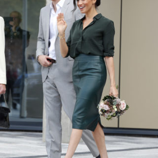 Meghan Markle in Sussex: che look!
