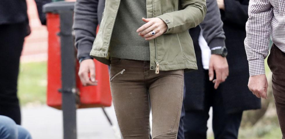 Il look di Kate Middleton per il primo impegno ufficiale dopo la maternità