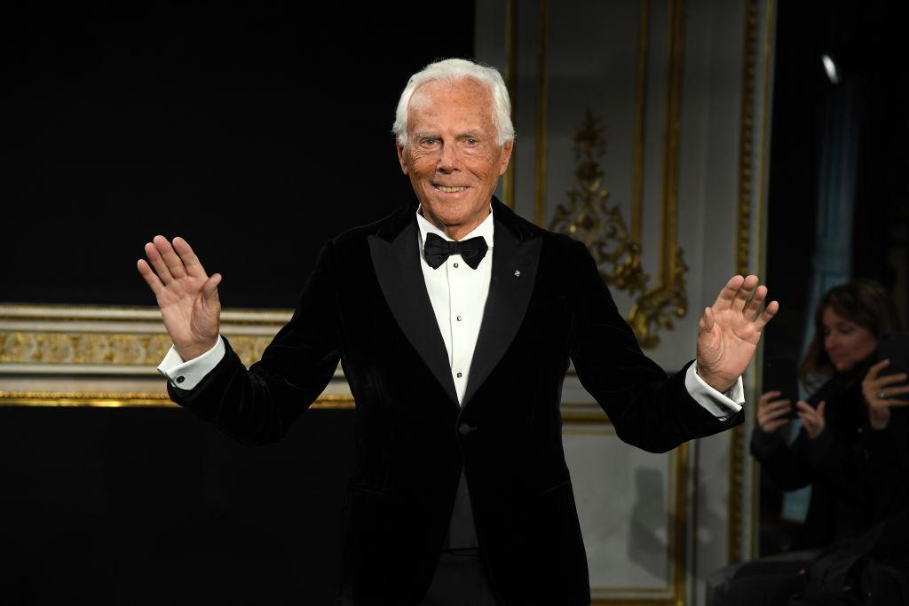 Giorgio Armani compie 85 anni l'11 luglio 2019
