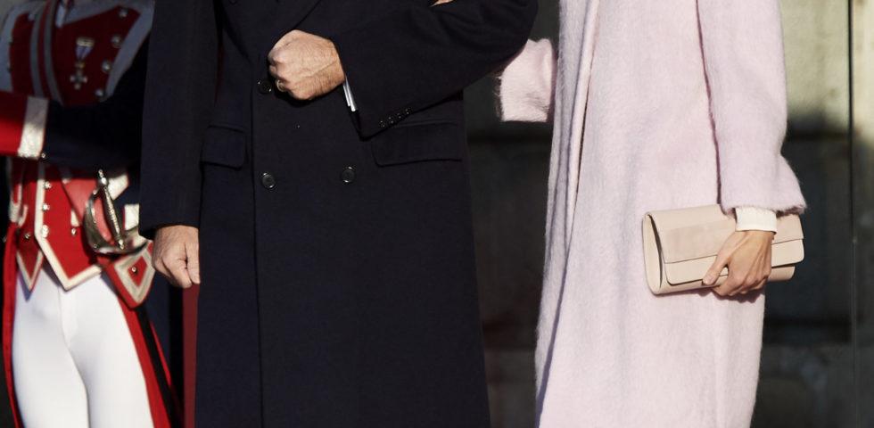 Letizia Ortiz: incontro di stato con vestito ASOS da 84 euro