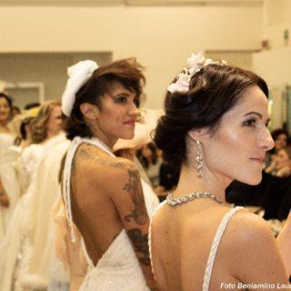 Abiti da sposa in passerella contro la violenza sulle donne