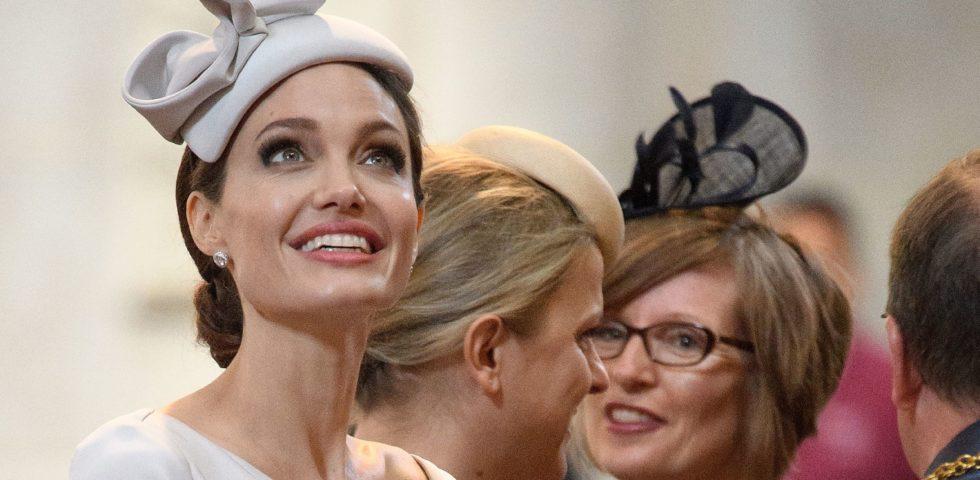 Angelina Jolie contro la violenza sulle donne in Ralph&Russo e Max Mara