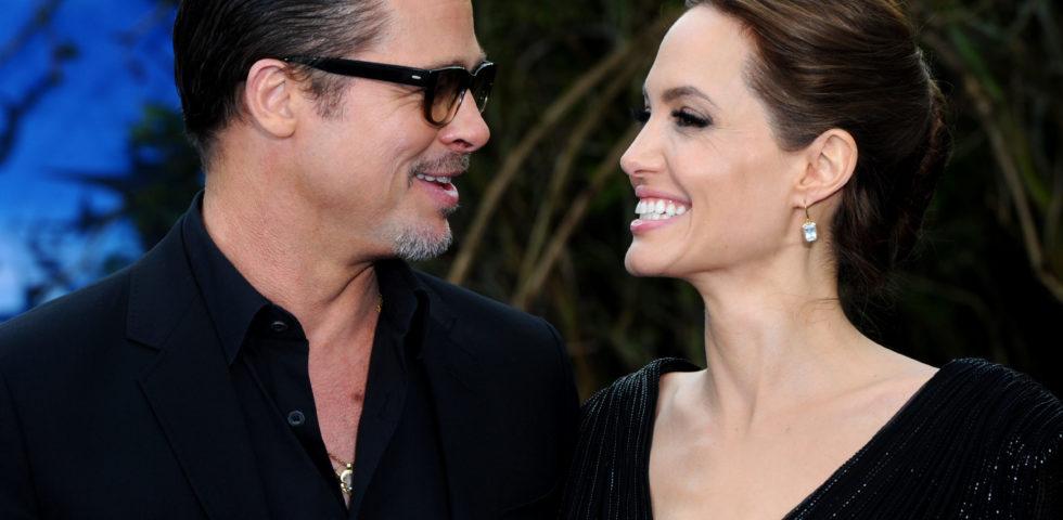 Brad Pitt e Angelina Jolie: prime foto insieme dopo il divorzio