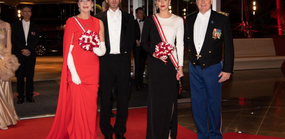 Charlene e Carolina di Monaco: principesse di stile per la Festa Nazionale