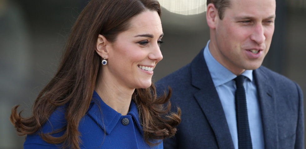 Kate Middleton ricicla il vestito Eponine London per la visita in McLaren