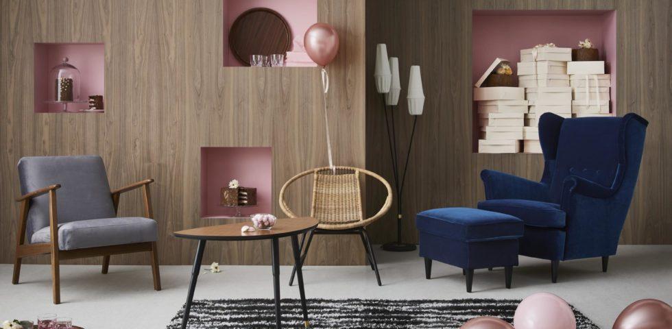 Ikea festeggia i 75 anni con la collezione Gratulera