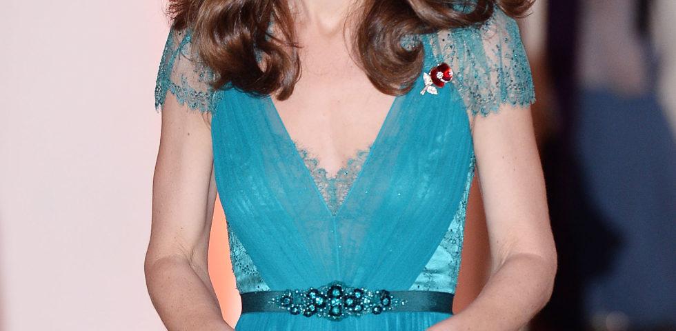 Kate Middleton, serata glamour con un abito indossato nel 2012