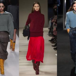 Stivali alti: 5 outfit per l'inverno