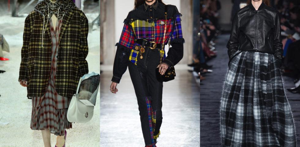 Trend moda 2019: tartan