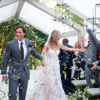 Gwyneth Paltrow sposa in Valentino