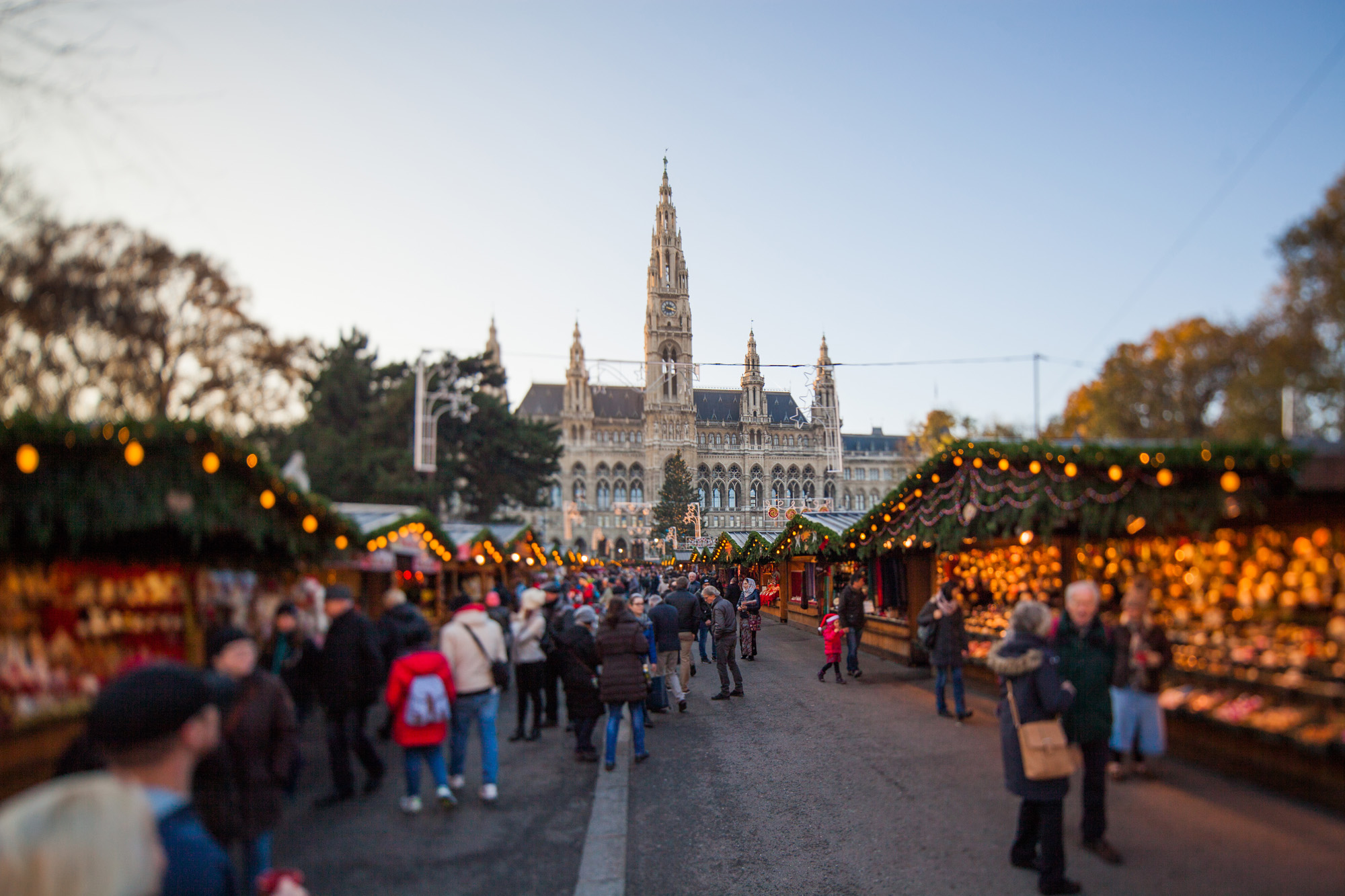 mercatino di natale di Vienna