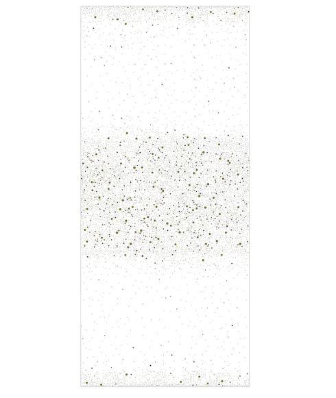 Ikea Vinterfest tovaglia fantasia bianca e oro