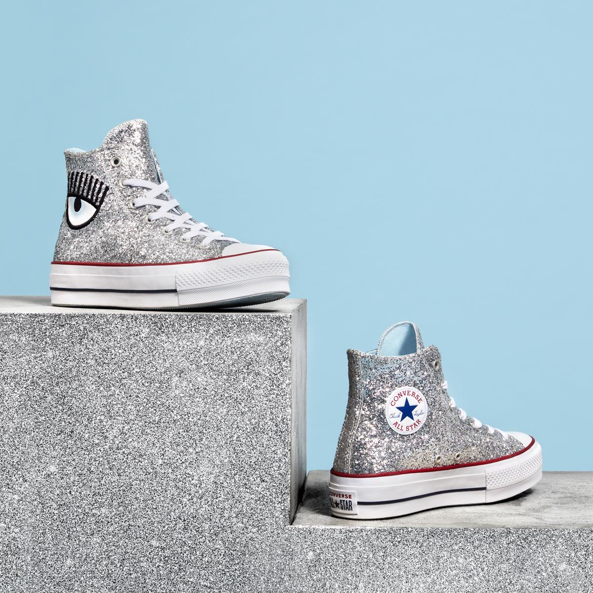 scarpe chiara ferragni converse
