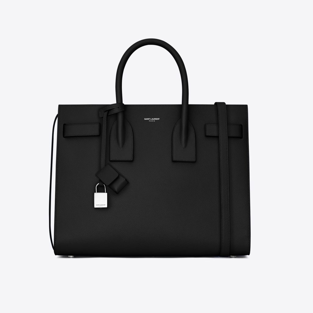 b563cbc2694c9d Small Sac de Jour Saint Laurent in pelle martellata (2.350 euro)