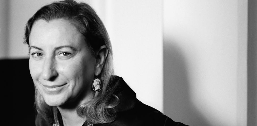 Miuccia Prada premiata ai Fashion Awards 2018