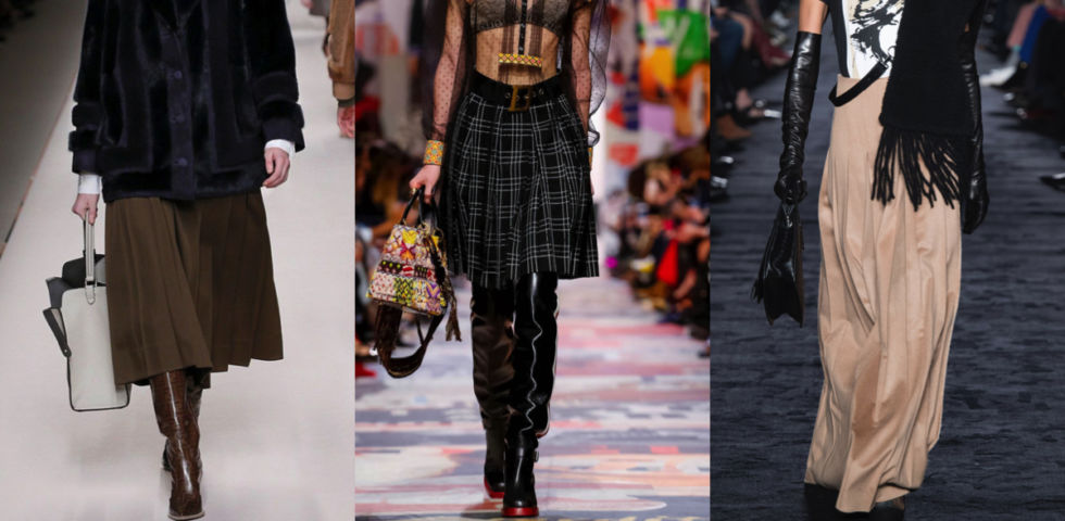 official photos ad4cf 0de6d Gonna plissettata: 5 outfit per il 2019 | DireDonna