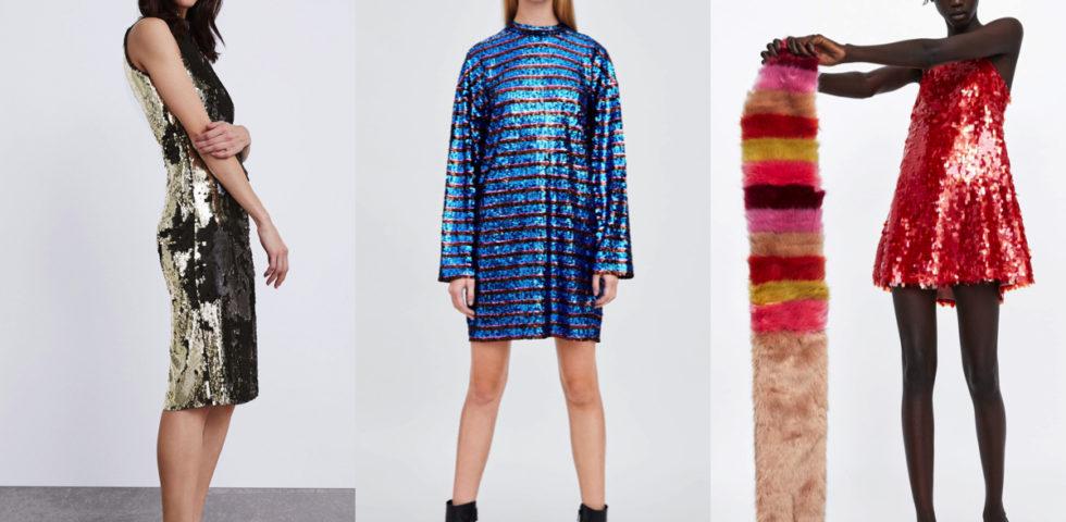 Vestiti Capodanno con le paillettes: Bershka, H&M e Zara