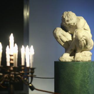 L'adolescente di Michelangelo alla Fondazione Alda Fendi