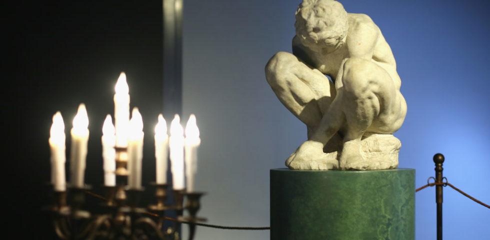 L'adolescente di Michelangelo a Roma da Fondazione Alda Fendi