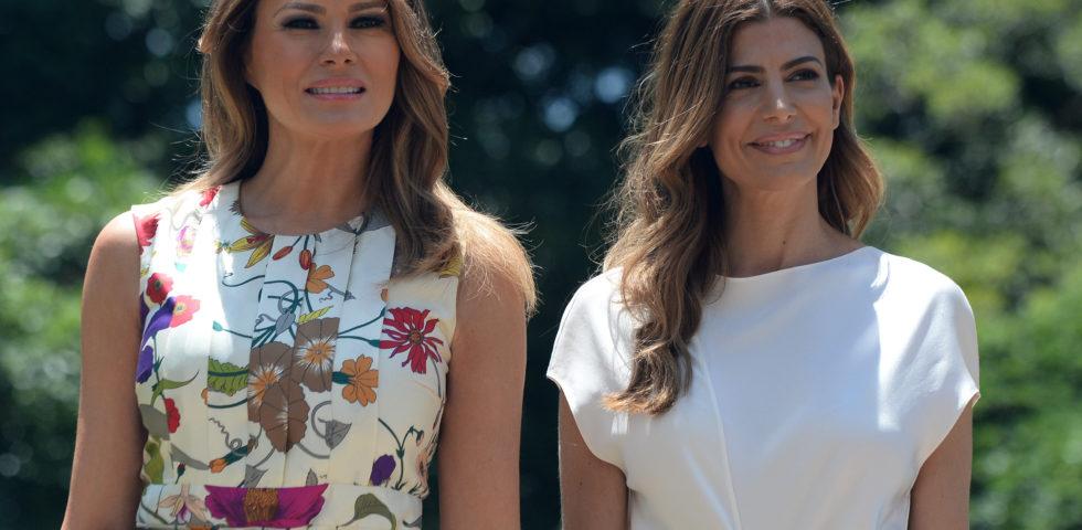 Melania Trump sceglie Gucci per il summit del G20