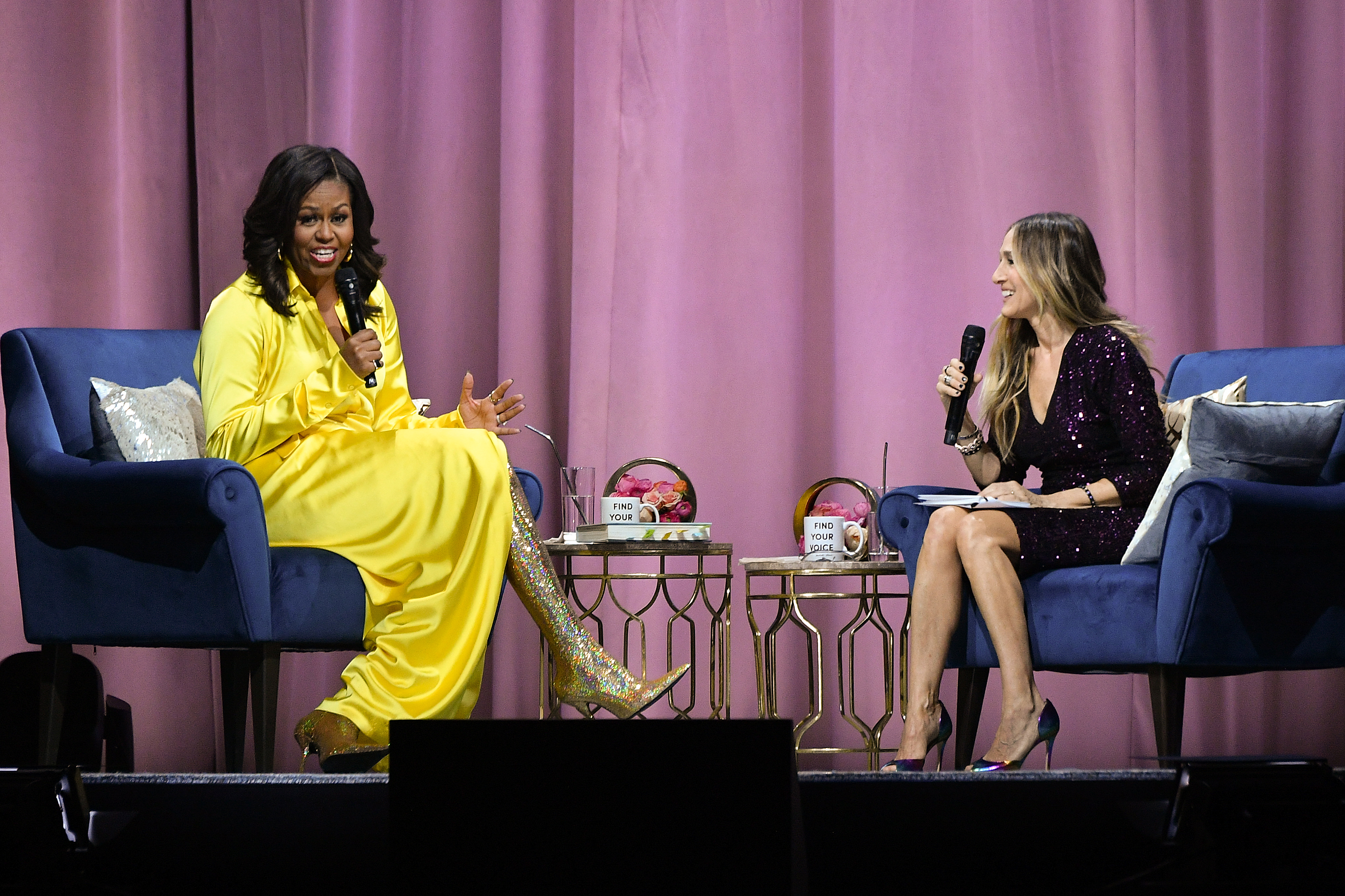 Look audace per Michelle Obama.
