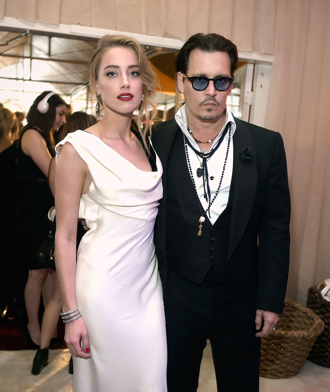 Amber Heard ha denunciato Johnny Depp nel 2016.