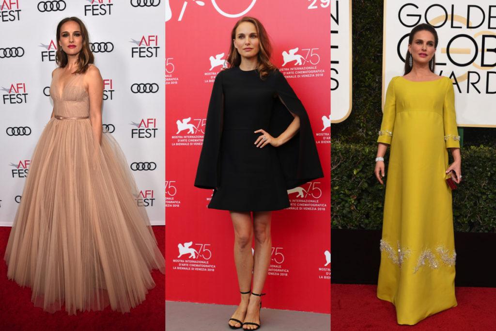 Tre immagini di Natalie Portman sul red carpet