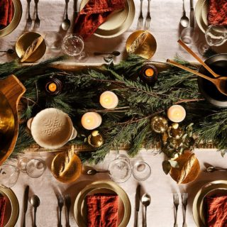 Inspiration: come decorare la tavola di Natale