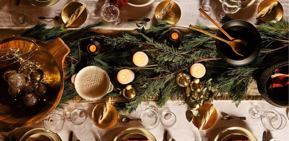 Decorazioni per la tavola di Natale: le idee