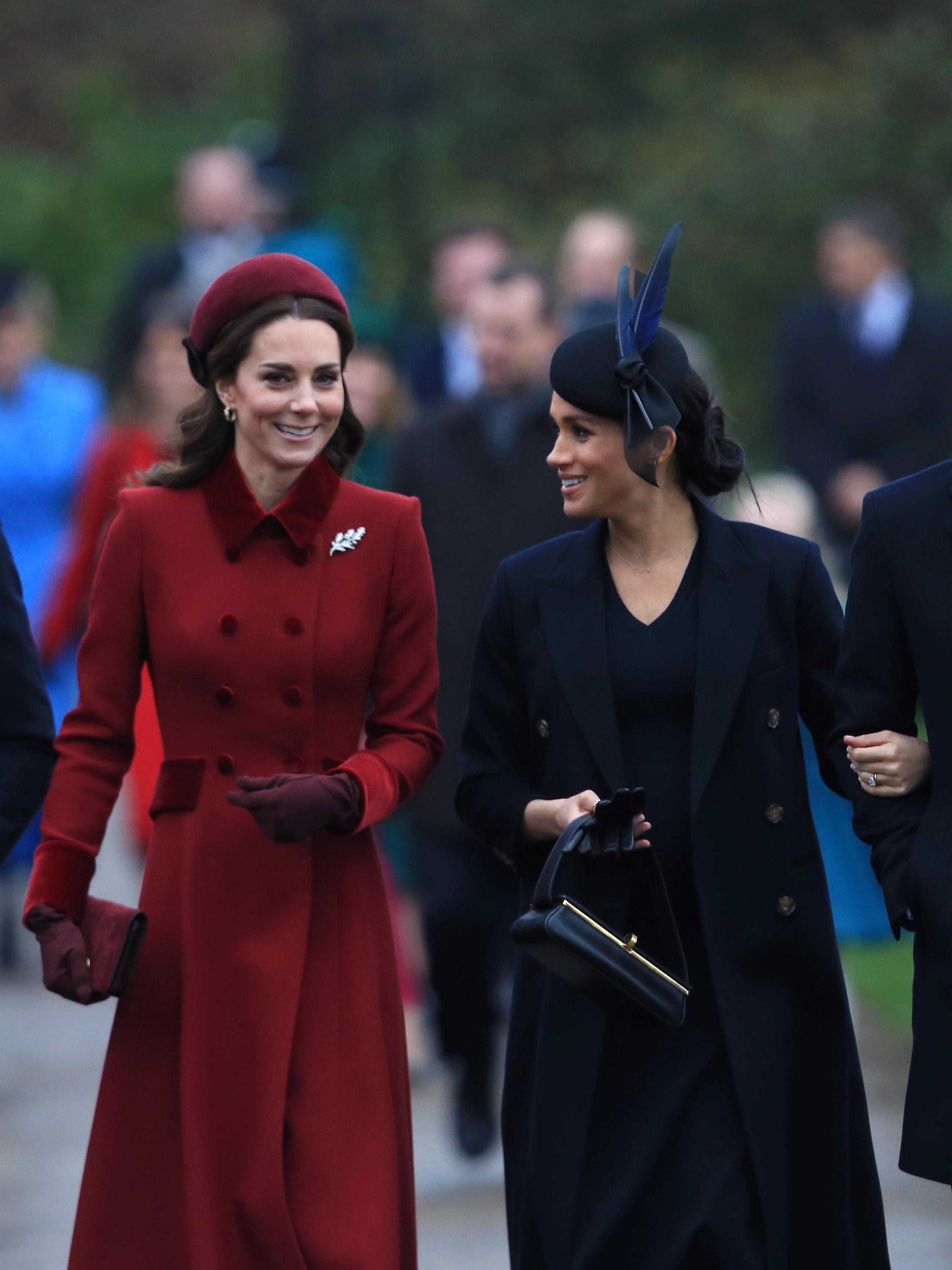 Kate Middleton e Meghan Markle insieme nonostante i gossip.