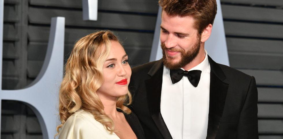 Miley Cyrus e Liam Hemsworth sposi: le foto del matrimonio