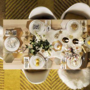 Inspiration: come apparecchiare la tavola a Capodanno