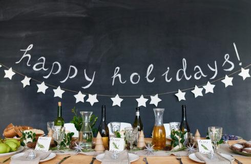 Apparecchiare la tavola a Capodanno: idee e addobbi
