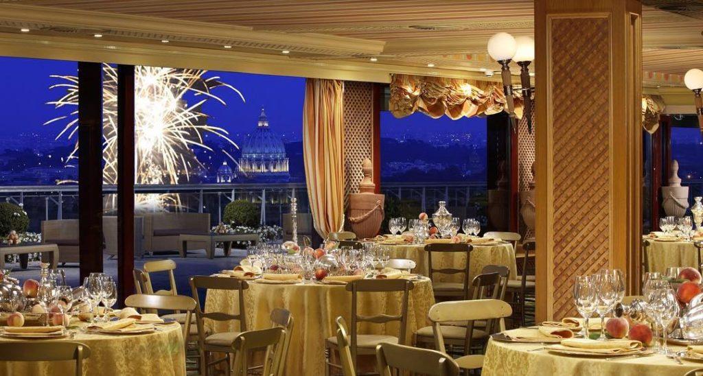 Cenone capodanno 2019 roma ristoranti menu prezzi for La pergola roma prezzi