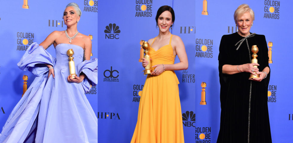 Golden Globe 2019: vincitori e abiti sul red carpet