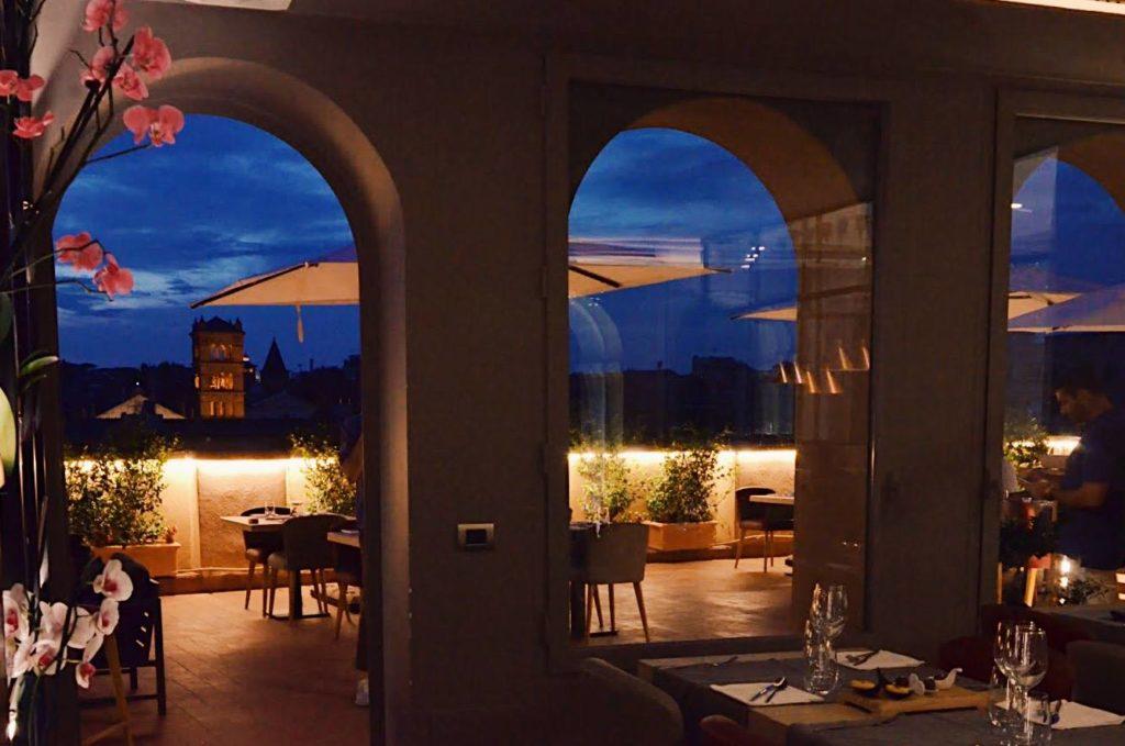 Il ristorante con terrazza di Trastevere Ego Bistrot