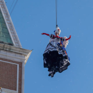 Volo dell'angelo al Carnevale di Venezia: guida all'evento