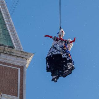 Volo dell'angelo al Carnevale di Venezia: guida all'evento