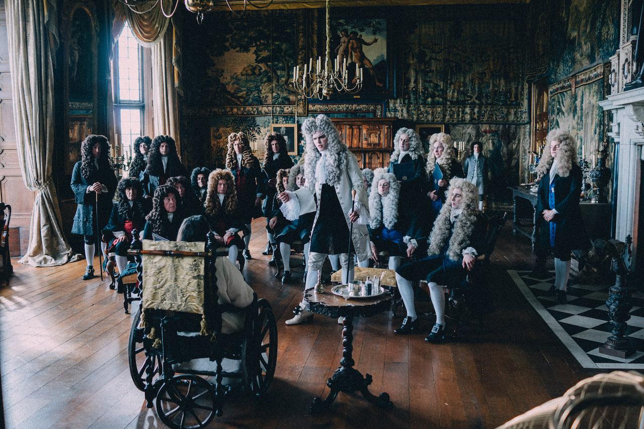 Whig e Tory al cospetto della Regina Anna