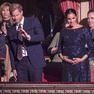 Meghan Markle splende con i gioielli di Diana