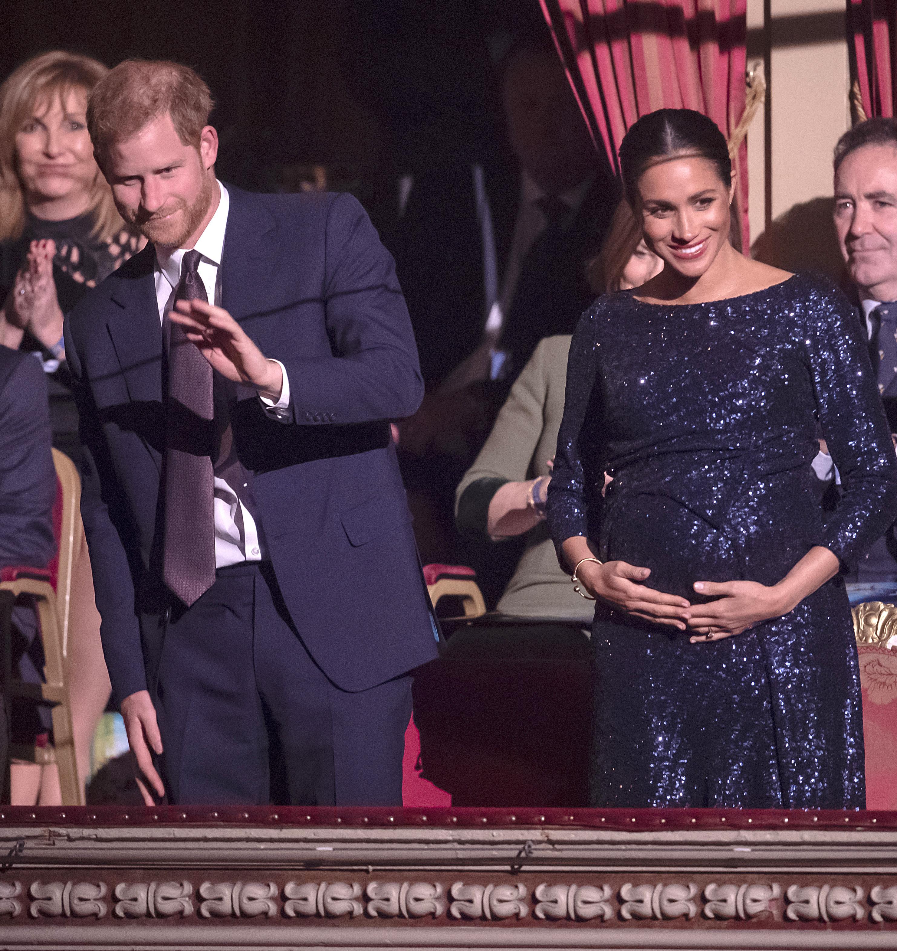 Meghan indossa un bracciale di Lady Diana
