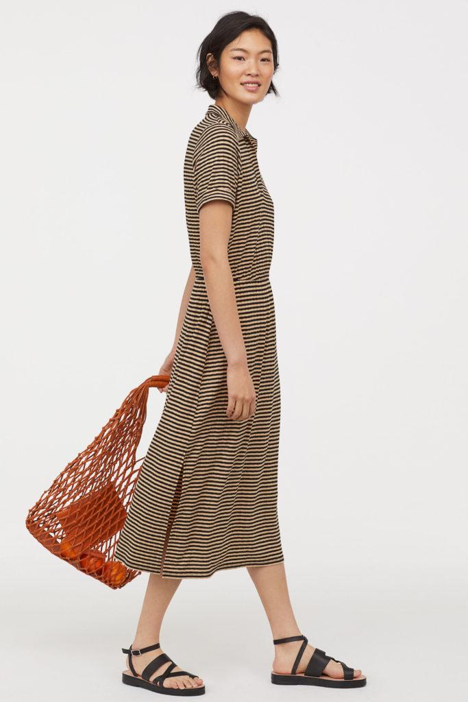 Abito di maglia a costine di H&M