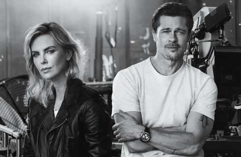 Brad Pitt e Charlize Theron: amore nato durante lo shooting per Breitling? (foto)