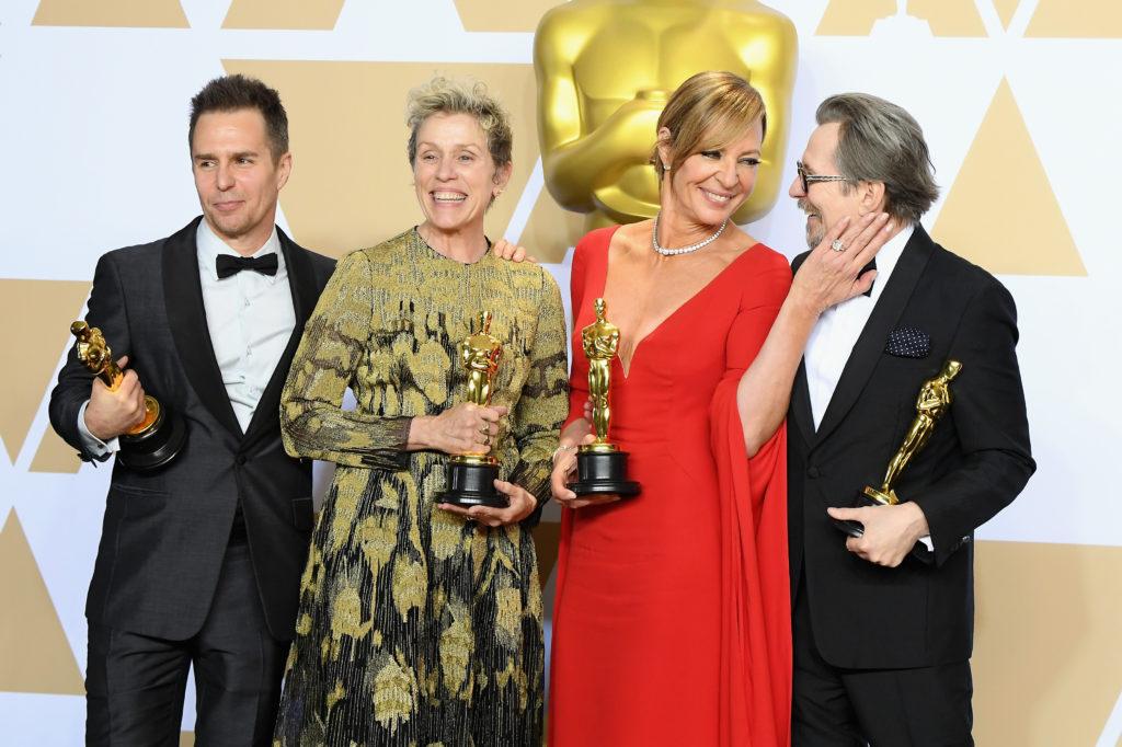 Gli attori vincitori dell'Oscar nel 2018