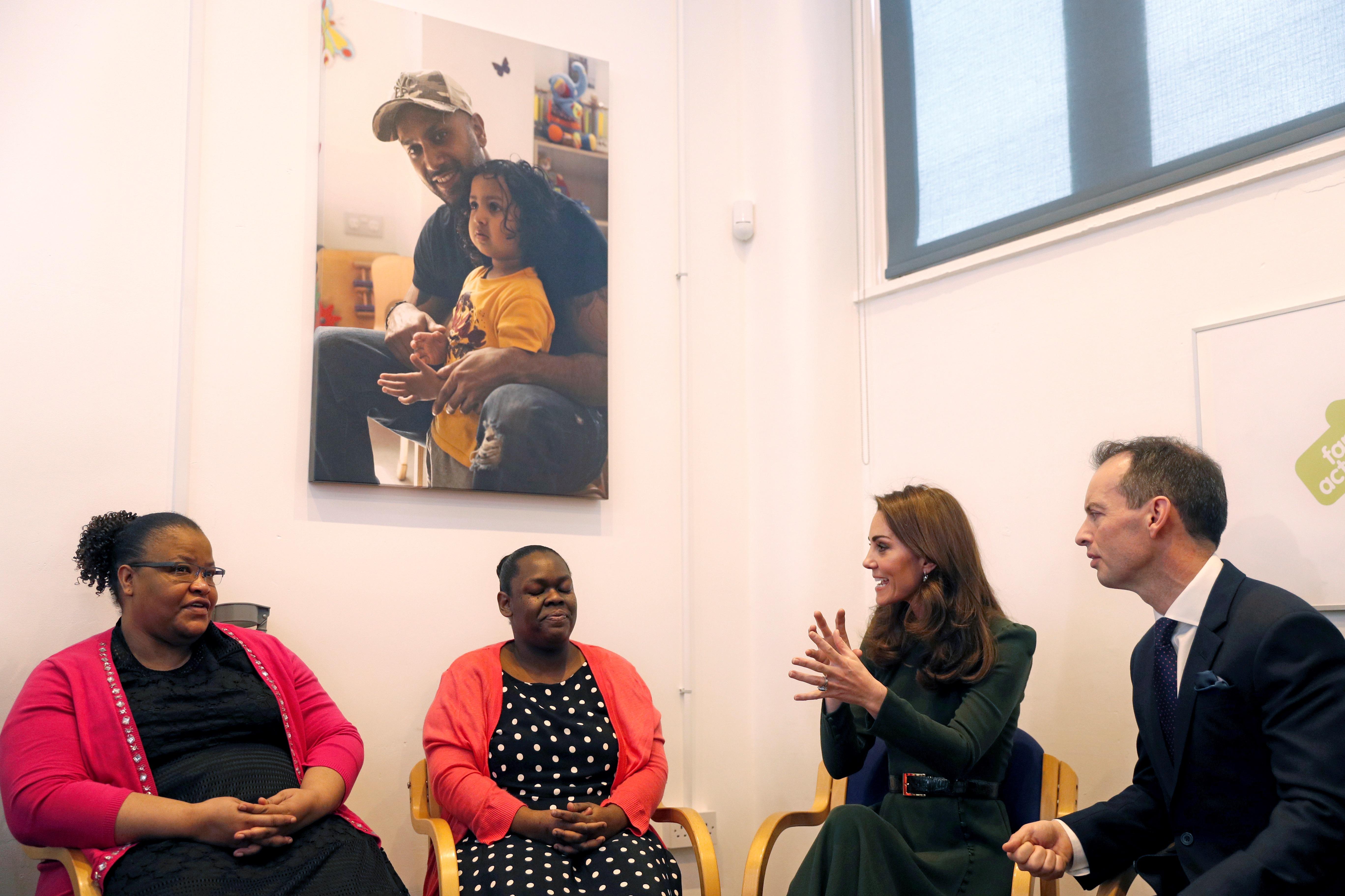 Kate Middleton parla di maternità