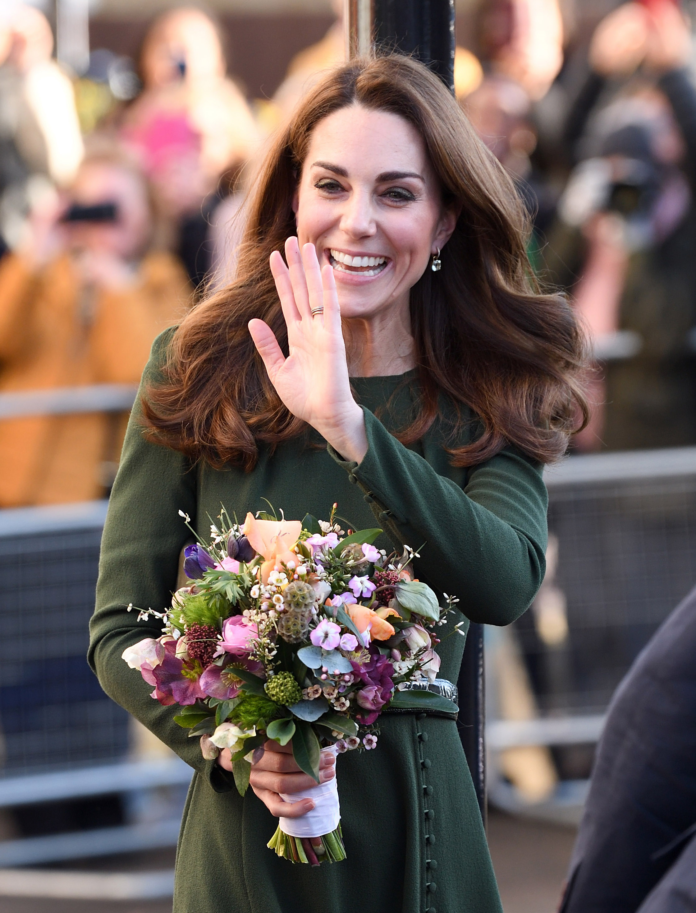 Kate Middleton parla di maternità