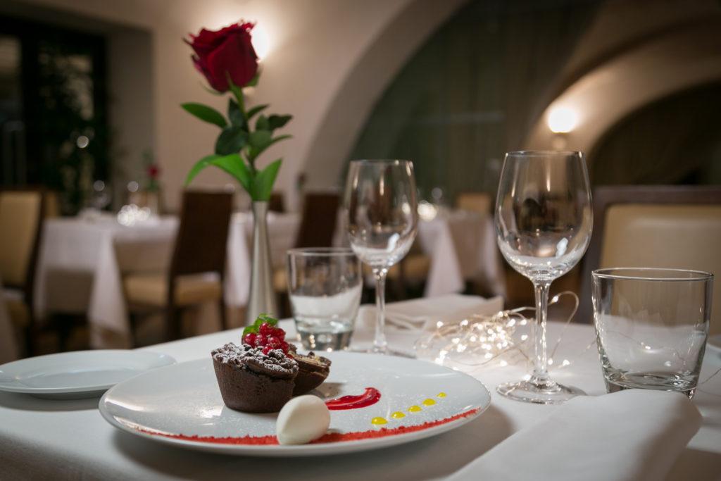 Romantica cena di San Valentino