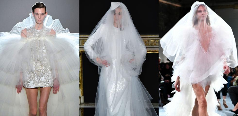 Abiti da sposa 2019: tendenze dall'Haute Couture di Parigi